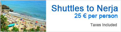 Shuttle to Nerja | 25 € per person